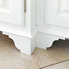 add dimension to flat cabinet fronts we bought under layment intended for under hardwood floors this board is about an 18 of an inch thick a. Interior Design Ideas. Home Design Ideas