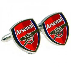 748b62d04e6f Stylish Arsenal FC club crest cufflinks, in colour making the perfect  accompaniment to your dress