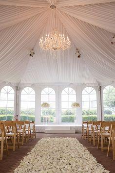 wedding ceremony idea; photo: Vero Suh Photography