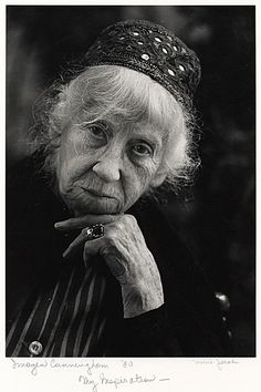Citation: Imogen Cunningham, ca. 1972 / Mimi Jacobs, photographer. [Photographs of artists taken by Mimi Jacobs, photographer], Archives of American Art, Smithsonian Institution.