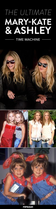 Mary-Kate and Ashley Olsen pictures — from 1993 to now