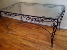 Vintage Wrought Iron Patio Set in Clinton, New York, NY, USA ~ Krrb
