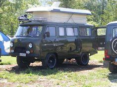 "UAZ van | malaysian campervan journey: UAZ-452 Buhanka ""Bread Loaf"" Van"