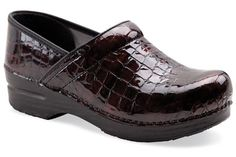 Dansko Professional Brown Croco Patent - These will be my next pair of shoes. I love my black pair, but need a pair to wear w/ brown.