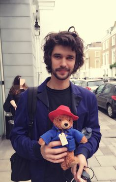 Paddington & Paddington - Ben Whishaw is Paddington's voice.  It was going to be my adored Colin Firth but sadly they were not a match.