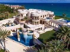 Mansion Homes, Dream Mansion, Beach Mansion, Hillsboro Beach, Florida Mansion, Mega Mansions, Luxury Mansions, Mansions For Sale, Luxury Homes Dream Houses
