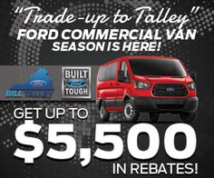 Bill Talley Ford Commercial Van, Ford, Ford Trucks, Ford Expedition