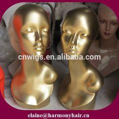 Beautiful wig mannequin heads/wig display mannequin head/mannequin head for wig