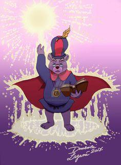 "Zummi il mago del cartoon Disney ""I Gummi"" a colori #disney #disneyworld #gummi #gummibears #zummi #zummigummi"