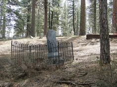 Cemetery, Ghost Town, Placerville, Idaho