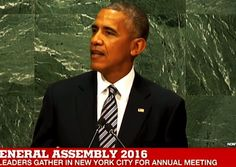 "OBAMA SAYS AMERICA MUST SUBMIT TO GLOBAL RULE: In his final speech before the UN today, Barack Obama slammed Israel for ""occupying Palestinian land""...and THEN he called for America to ""accept constraints"" and  to ""give up some freedoms and submit to global government"". Yes, he really said that click to see it. http://www.nowtheendbegins.com/obama-united-nations-trashes-america-calls-global-government/"