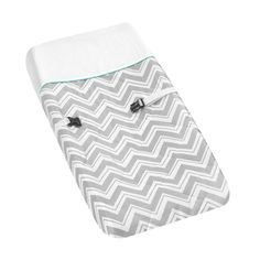 @Overstock.com - Sweet JoJo Designs Turquoise Zig Zag Changing Pad Cover - Keep your baby's bottom comfortable during changes with this cotton changing pad cover by Sweet JoJo Designs. The two-tone cover has a zigzag pattern that gives it a contemporary look, and it is machine-washable to ensure easy cleaning.  http://www.overstock.com/Baby/Sweet-JoJo-Designs-Turquoise-Zig-Zag-Changing-Pad-Cover/7662123/product.html?CID=214117 $26.99