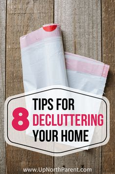 Learn how to simplify your house with these 8 basic tips for decluttering your home. Embrace simplicity and clear your mind as you declutter your stuff.