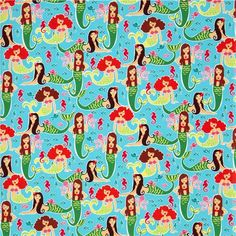 Michael Miller Fabric 'Sea Beauties'