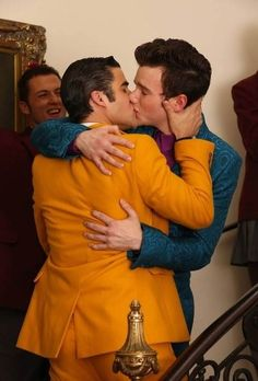 """""""Klaine"""" is the relationship name for Kurt Hummel and Blaine Anderson on Glee. Blaine and Kurt are one of the two gay couples on the show. Their relationship had more romance than any other. Blaine's suprise proposal to Kurt was one of my favorite things ever. Yes, these two broke up and got back together multiple times before getting married but they were meant to be together."""