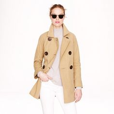 I have always looked for the perfect trench...I've found it!!!:)
