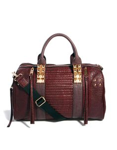 Leather bag by River Island www.fashiontalesandotherstories.com