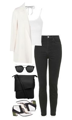 """""""Untitled #322"""" by lindsjayne ❤ liked on Polyvore featuring Lilou, Rodarte, Topshop and Theory"""