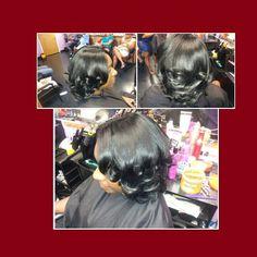 Natisha Nicole Beauty Salon 1302 325-9929 WEAVE SPECIAL GOIN ON!