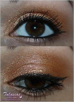 Orange Eye Make Up - Datum: 13.07.2012  http://talasia.blogspot.de/2012/07/amu-swatch-catrice-absolute-eye-colour.html