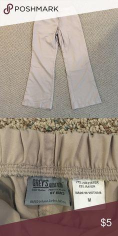 Greys anatomy scrubs Greys anatomy khaki scrubs bottoms Pants Trousers