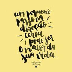 #recadodobem: não fique apenas olhando as oportunidades, tenha coragem de andar…