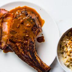 Hoisin-Glazed Pork Chops Recipe - Bon Appétit