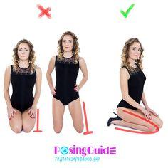 (5) Position legs. Posición piernas