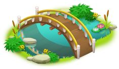 Bridge and Pond PNG Clip Art in category Outdoor PNG / Clipart - Transparent PNG pictures and vector rasterized Clip art images. Blue Christmas, Christmas Angels, Hay Day App, Lantern Drawing, Halloween Alice In Wonderland, Christmas Clipart Free, Tree Lanterns, Social Media Art, Halloween Cartoons