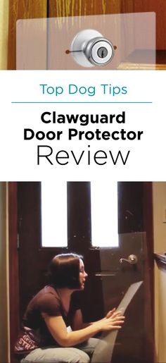 Clawguard Slips Right Over Your Door Handle. Protects Your Door From Dog  Scratching. #dogproblems #scratching | Why Dogs Scratch Doors | Pinterest |  Door ...