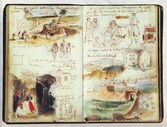 sketchbook of eugene delacroix - Google'da Ara