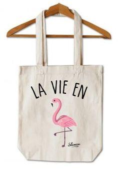 """Tote Bag """"La vie en rose"""""""