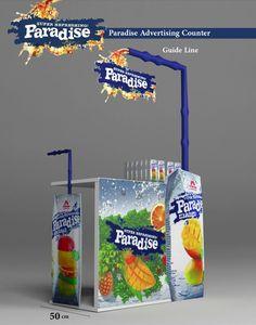 Paradise Drink 2d -3d Design on Behance: