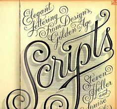 lettering and typography