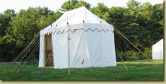 Officer's Marquees | Tentsmiths