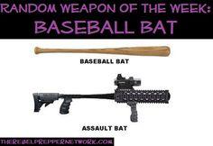 Random Weapon of the Week: Baseball Bat