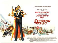 James Bond movie poster: Octopussy (1983)