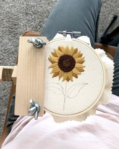 Create this embroidery design with a detailed guide, step by step photos, and stitching instructions. Beginner friendly!