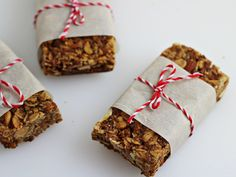 Homemade Granola Bars - Home Cooking Memories