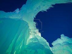 Castelli di ghiaccio di Siverthorne, Colorado