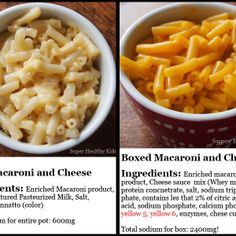 Quick Macaroni and Cheese