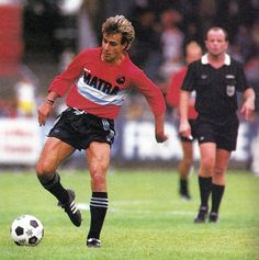 Pierre Littbarski (RC Paris, 1986–1987, 34 apps, 4 goals)