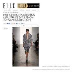 Elle https://www.facebook.com/PaulaChengDesign