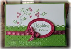 Stampin' Up! Cards  by Kris McIntosh