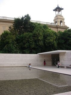 Barcelona Pavilion - Wikipedia, the free encyclopedia Barcelona Pavillion, Ludwig Mies Van Der Rohe, Stone Cladding, Spain And Portugal, Architectural Elements, Pavilion, Modern Architecture, Mid-century Modern, Minimalism
