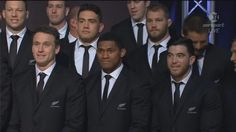All Black rugby world cup 2015 with a couple of new boys Best 'O Kiwi.