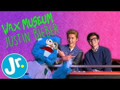 (39) Meeting JUSTIN BIEBER at the WAX MUSEUM - UNCAGED with Joey & The Sloth - YouTube