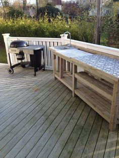 📌 39 outdoor space decor ideas, how to choose furniture for your outdoor space 7 Bbq Kitchen, Backyard Kitchen, Kitchen Ideas, Rustic Kitchen Design, Outdoor Kitchen Design, Simple Outdoor Kitchen, Outdoor Kitchen Bars, Outdoor Kitchens, Outside Sink