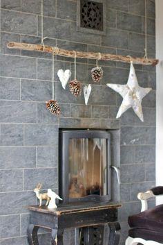 Objet en bois flotté cadre en bois flotté decoration nature mobile bois flotté