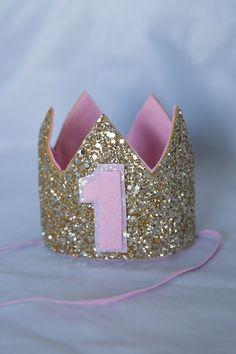 Hey, I found this really awesome Etsy listing at https://www.etsy.com/listing/195398059/glittery-birthday-crown-birthday-crown